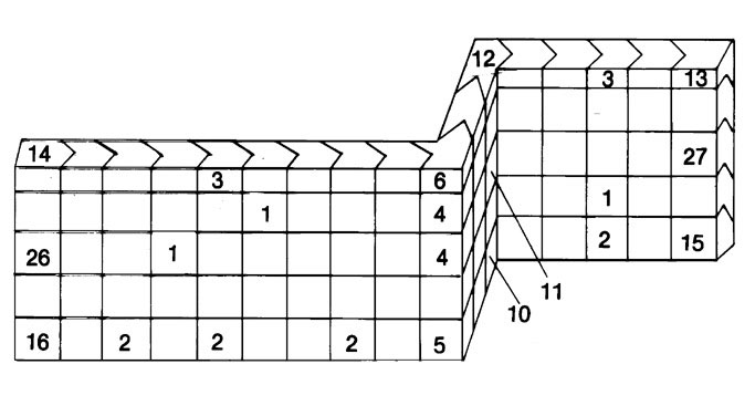 lead brick diagram