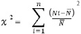 Chi Sqaure Equation