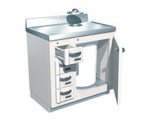 Lead-Lined Waste and Storage Cabinet