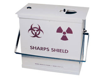 Sharps Container Shield