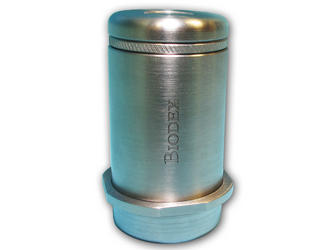 NEW Tungsten Vial Shield with Magnetic Cap
