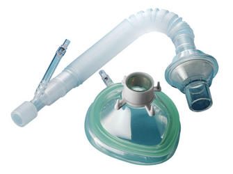 Air-Cushioned Face Mask with Direct Dose Administration Adapter