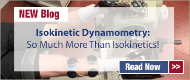Blog – Isokinetic Dynamometry: So Much More Than Isokinetics!