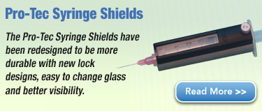 Pro-Tec Syringe Shields have been redesigned