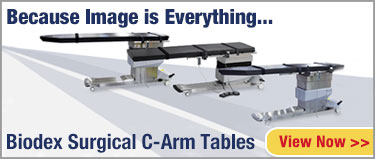 Biodex C-Arm Tables